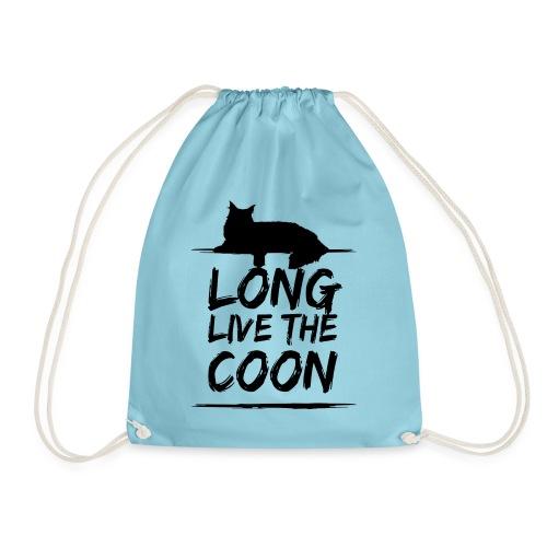 Long Live The Coon Maine Coon Beutel - Turnbeutel