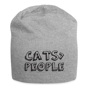 Cats Are Greater Than People Beanie - Jersey-Beanie