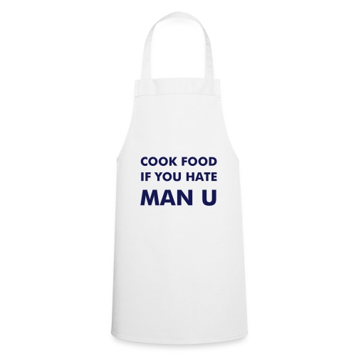 'Cook Food' Apron (white) - Cooking Apron