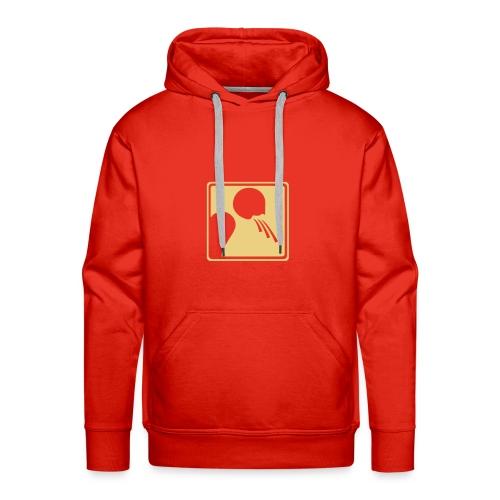 descente rapide - Sweat-shirt à capuche Premium pour hommes