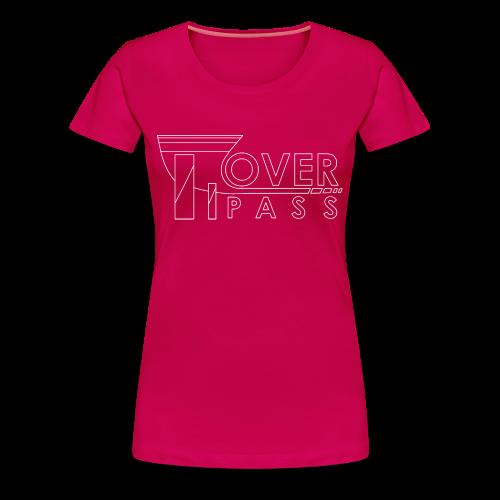 Overpass White for Women - Women's Premium T-Shirt