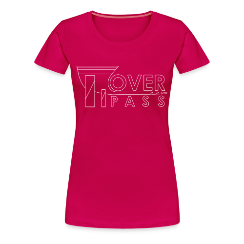 Overpass White for Women - Women's Premium T-Shirt