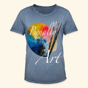 Benally Art Vintage Shirt Men - Men's Vintage T-Shirt