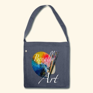 Benally Art Recycle Bag - Shoulder Bag made from recycled material