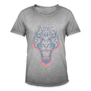 Vintage Tiger - Männer Vintage T-Shirt