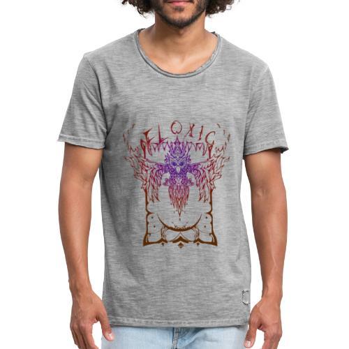 Vintage Owl - Männer Vintage T-Shirt