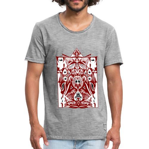 Vintage art - Männer Vintage T-Shirt