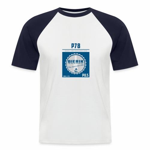 T P78 B - Männer Baseball-T-Shirt