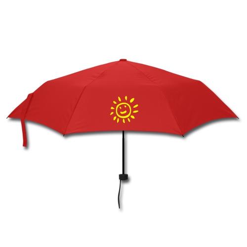 Nach Regen kommt Sonnenschein. - Regenschirm (klein)