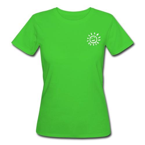 Frauen lieben Nachhaltigkeit. Ein Bio-Shirt steht nicht nur für Solarenergie. - Frauen Bio-T-Shirt