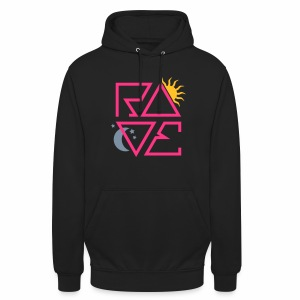 RAVE Day & Night V1 - Hoodie - Unisex Hoodie