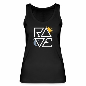 RAVE Day & Night V1 - Tanktop - Frauen Bio Tank Top von Stanley & Stella