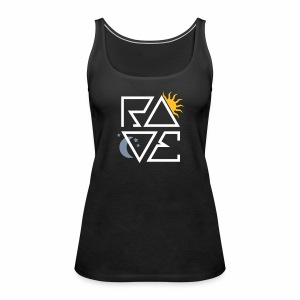 RAVE Day & Night V1 - Tanktop - Frauen Premium Tank Top