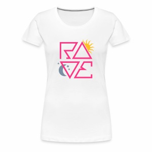 RAVE Day & Night V1 - T-Shirt - Frauen Premium T-Shirt