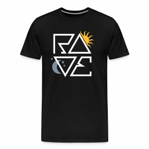 RAVE Day & Night V1 - T-Shirt - Männer Premium T-Shirt