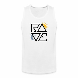 RAVE Day & Night V1 - Tanktop - Männer Premium Tank Top
