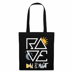 RAVE Day & Night V2 - Tasche - Stoffbeutel