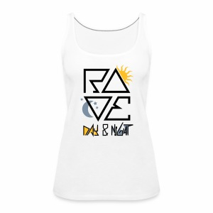 RAVE Day & Night V2 - Tanktop - Frauen Premium Tank Top