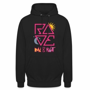 RAVE Day & Night V2 - Hoodie - Unisex Hoodie