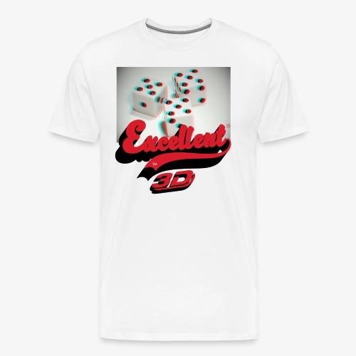 XCLLT - 3D - T-shirt Premium Homme