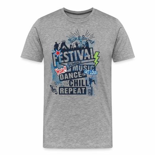 Festival_Summer Music - Männer Premium T-Shirt