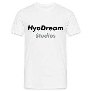T Shirt Blanc 1 - HyoDream Classic - T-shirt Homme