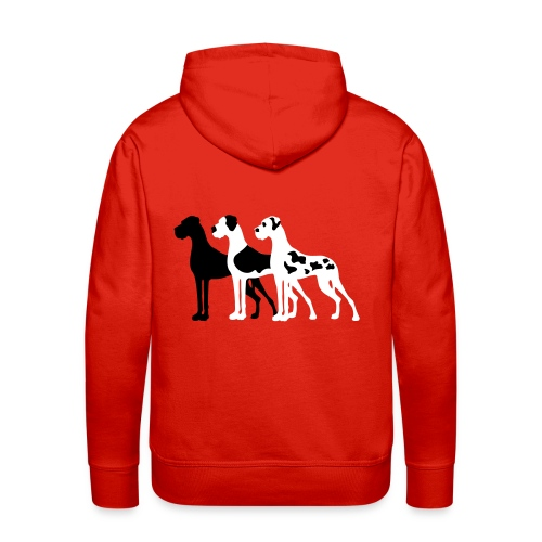 3-Doggen - Männer Premium Hoodie