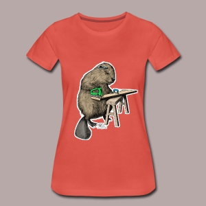 Beaver Carpenter - Women's Premium T-Shirt