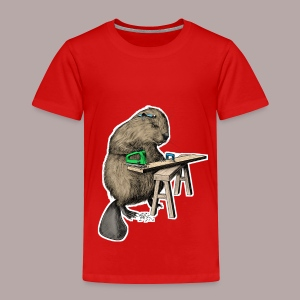 Beaver Carpenter - Kids' Premium T-Shirt