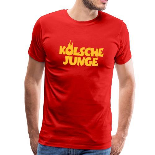 Kölsche Junge - Männer Premium T-Shirt