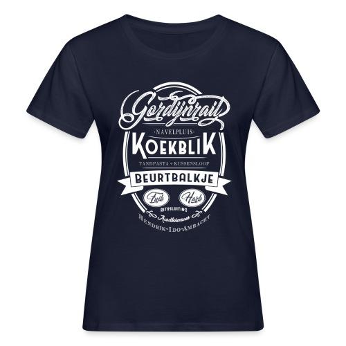 Gordijnrails vrouwen bio - Vrouwen Bio-T-shirt