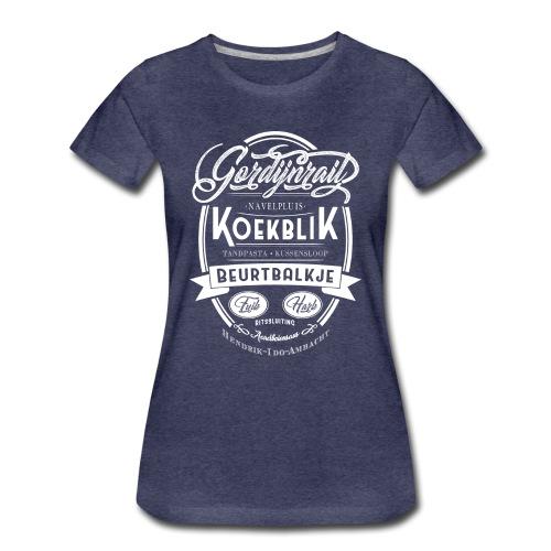 Gordijnrails vrouwen premium - Vrouwen Premium T-shirt