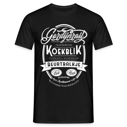 Gordijnrails mannen t-shirt - Mannen T-shirt