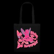 Tasker & rygsække ~ Mulepose ~ Go fish! Be happy!, taske