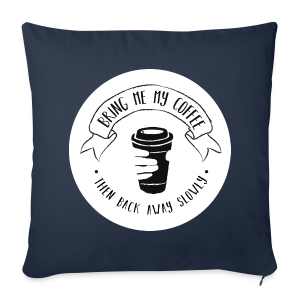 Coffee for the Grumpy Sofa Pillow Cover - Sofa pillow cover 44 x 44 cm