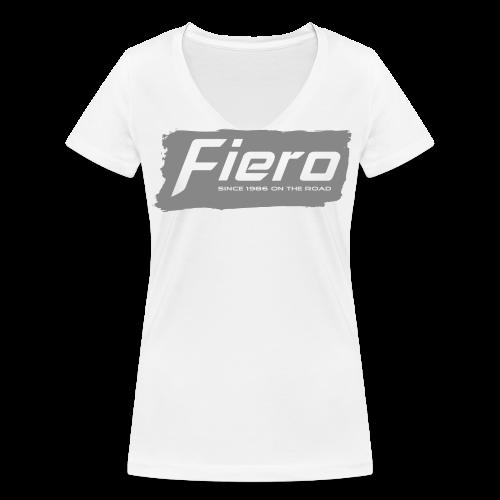 Since 1986 on the road - Frauen Bio-T-Shirt mit V-Ausschnitt von Stanley & Stella