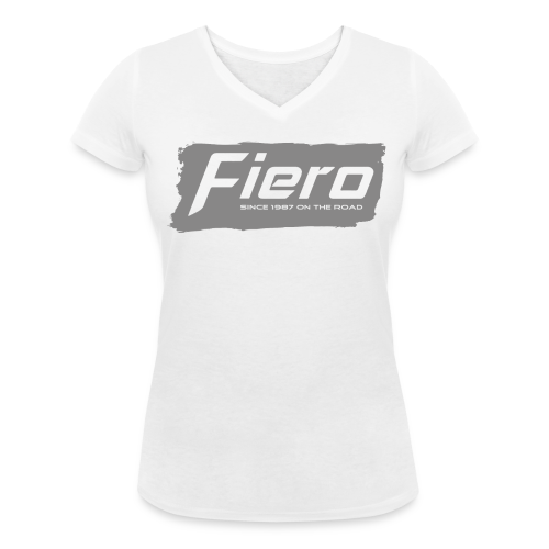 Since 1987 on the road - Frauen Bio-T-Shirt mit V-Ausschnitt von Stanley & Stella