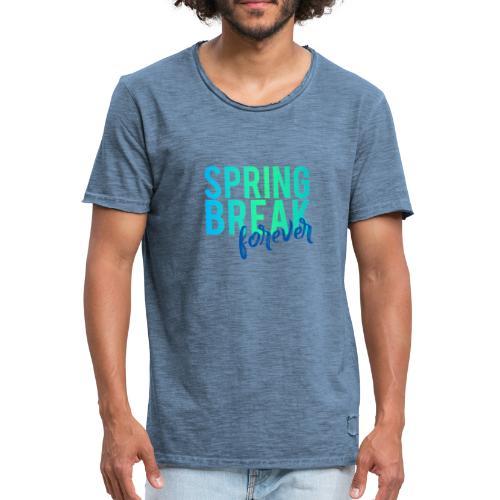 Spring Break forever - Männer Vintage T-Shirt