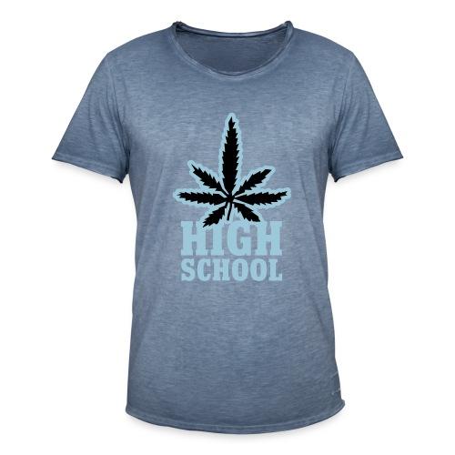 High School - Männer Vintage T-Shirt