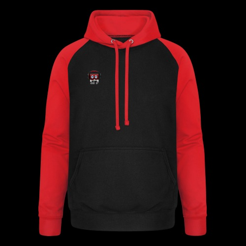 Sweat-shirt baseball unisexe bibulegom (rouge/blanc) - Sweat-shirt baseball unisexe