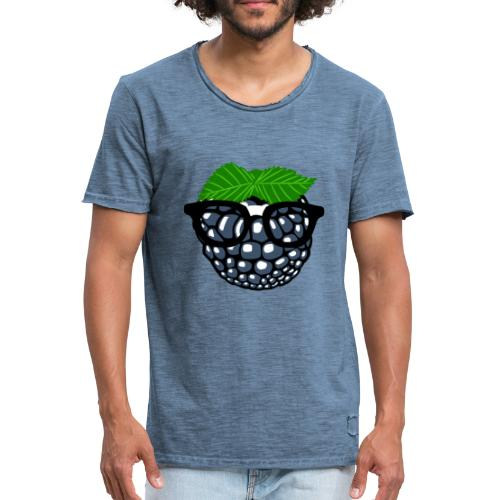Crack Berry - Männer Vintage T-Shirt