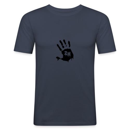 ZH T-Shirt - Blue/Navy/Black/Grey/Red/White - Männer Slim Fit T-Shirt