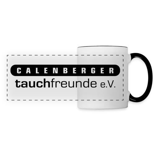 Kaffeebecher der Calenberger Tauchfreunde - Panoramatasse