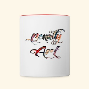 Benally Art Cup Color - Contrasting Mug