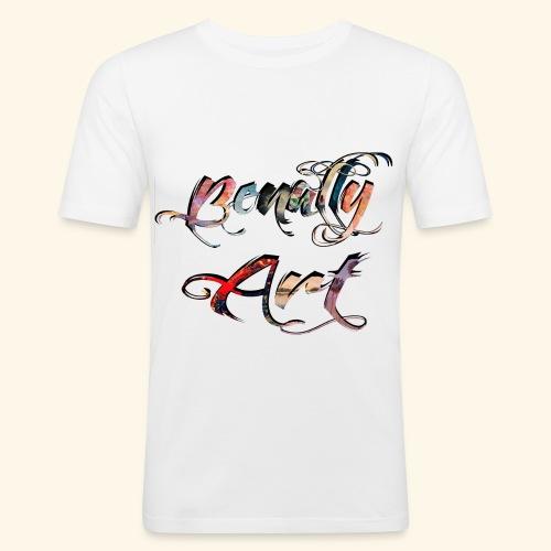 Benally Art Shirt Men - Men's Slim Fit T-Shirt