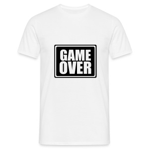 Hey man, game over - Camiseta hombre