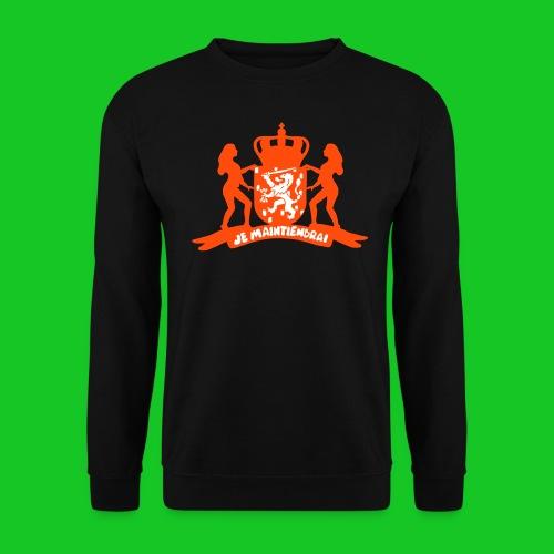 Je Maintiendrai sweater zwart - Mannen sweater