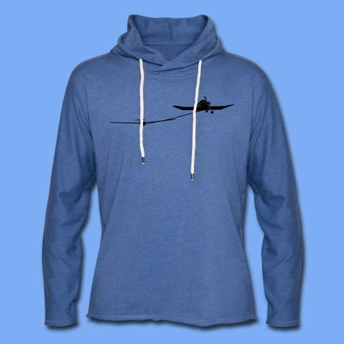 towing a glider - Light Unisex Sweatshirt Hoodie