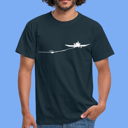 towing a glider - Men's T-Shirt