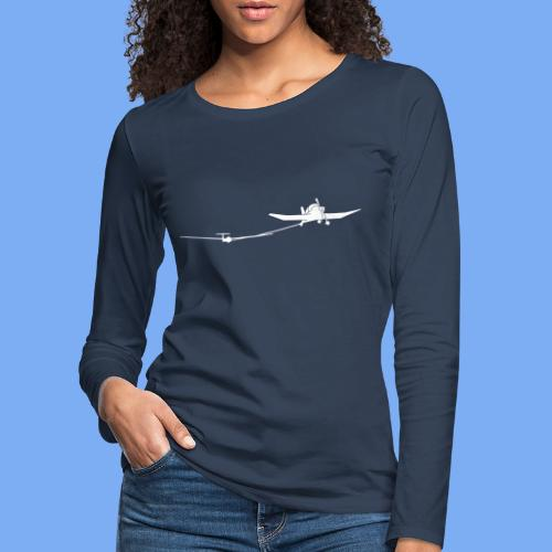 towing a glider - Women's Premium Longsleeve Shirt